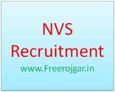 NVS Recruitment 2017: Jawahar Navodaya Vidyalayas has released a notification regarding the NVS Pune Recruitment 2017 about various vacancies for 351 PGTs, TGTs & FCSA on the contractual basis for the session 2017-18 for pune region. Candidates have to submit the completely filled Navodaya Vidyalaya Samiti Recruitment Application Form to the concerned postal address on or before the last date, i.e. [ 422 more words ]