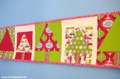 In today's post we're featuring 50 free patterns for table runners, table toppers and place mats. And don't miss our Free Pattern Days for...