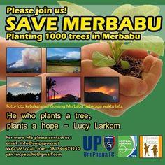 Mari ikuti kegiatan tanam 1.000 pohon di Merbabu Bisa langsung hubungi Kakak Yan untuk info selengkapnya.
