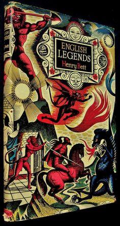 'English Legends' written by Henry Bett, Illustrated by Eric Fraser. B. T. Batsford, London, New York, 1950.
