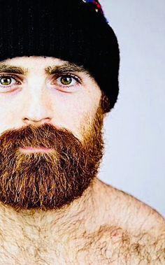 Lucas Parker, of course. Scruffy Men, Hairy Men, Bearded Men, Great Beards, Awesome Beards, Beard Styles For Men, Hair And Beard Styles, Ginger Men, Ginger Beard
