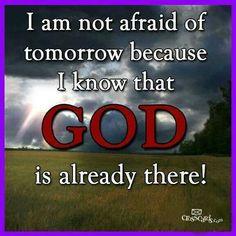 Amen & Praise Him for that!