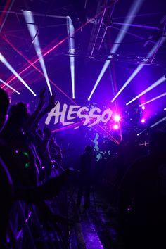 alesso :) #edm #alesso #lights