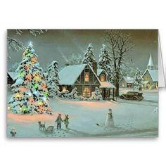 Christmas Season's Greetings To All Cards