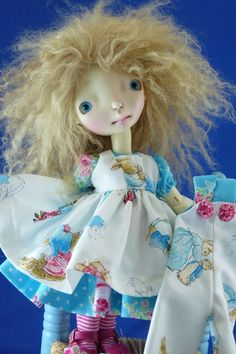 For Connie Lowe Sprocket Dolls The Tale of Benjamin por nippykat