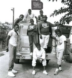 """A BLACK HISTORY MOMENT: The Junkyard Band (Washington D.C. 1986) This legendary eight-member crew of Washington, DC-based youngsters, age eleven to seventeen, the The Junkyard Band played their funky go-go music on overturned buckets instead of drums because they didn't have the money for more conventional instruments. Produced by Rick Rubin, a big fan of go go music, the Junkyard Band's only Def Jam single """"Sardines"""" b/w """"The World"""" earned them a place among """"The Greatest Bands You've…"""