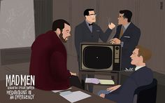 Mad Men: the illustrated world by Dyna Moe