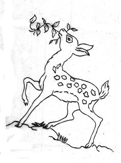 jpg (bcampbell_to) Tags: vintage embroidery transfers Hand Embroidery Design Patterns, Embroidery Transfers, Embroidery Fashion, Vintage Embroidery, Zen Colors, Photo Pattern, Indian Art Paintings, Sewing Art, Oh Deer