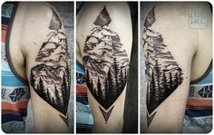 Gallery @ Love Hawk Tattoo Studio - This is the kind of PNW tattoo I've been looking for!