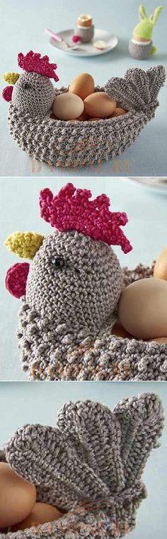 Корзинка для пасхальных яиц
