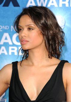 """Girl crush: British-born actress Gugu Mbatha-Raw. (Her middle name is Sophia!)  I finally rented the period piece, """"Belle"""" on DVD."""