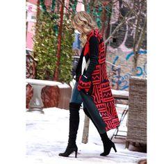 Inspiration for a folk jacket