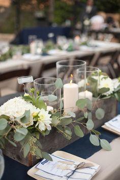 eucalyptus garland wedding centerpieces - Recherche Google