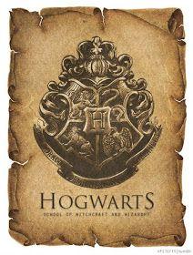 Harry Potter World: ESCUDOS HOGWARTS VINTAGE