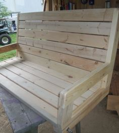 How To Build A 2×4 Porch Swing - Jays Custom Creations