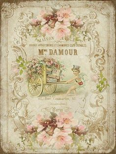 Victorian French Floral Catalog