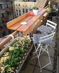 Small Balcony Design, Tiny Balcony, Small Balcony Decor, Small Patio, Narrow Balcony, Balcony Ideas, Patio Ideas, Apartment Balcony Decorating, Apartment Balconies