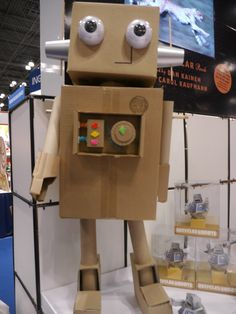 Cardboard robot Workshop of Wonders VBS #firstpresorangeburgvbs