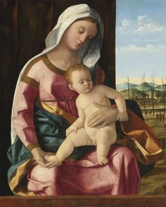 Madonna and Child - Studio of Giovanni Bellini - Venice, Italy - 1425-1516