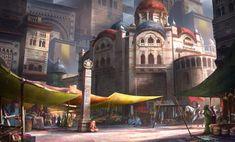 StreetMarket by lafemmedart218