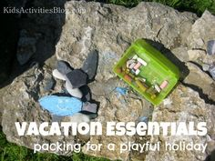 What are your vacation essentials when you're packing for a trip with the kids? Great ideas here.
