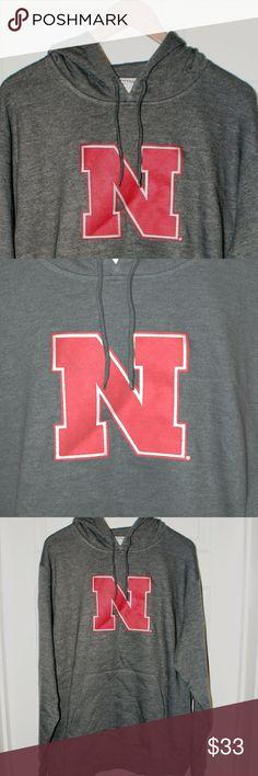 Nebraska Cornhuskers Hoodie XL...NWT Nebraska Cornhuskers Hoodie XL...NWT....smoke/pet free....shipping within 1 business day....please ask any questions. Majestic Shirts Sweatshirts & Hoodies