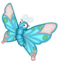 ‿✿⁀Butterflies‿✿⁀ Butterfly Line Drawing, Cartoon Butterfly, Butterfly Clip Art, Butterfly Pattern, Butterfly Wings, Disney Drawings, Cute Drawings, Cartoon Art, Cartoon Images
