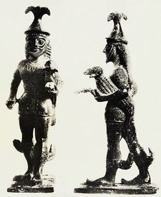 *The Saami - Samisk - Sámi*: The Ancient Gods of the Sami – De gamle samiske gudene This is the first depiction of the archaic Greek God Hermes from the 6th Century BCE. Pay attention to the resemblance of the clothing of this God with the Sami: The hat, the zigzag patterns on the tunic and the decor on his legs which is symbolizing wings. Hermes might be related to Tiermes [Diermes], an ancient Sami God.