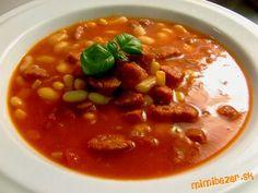 Tak tu je ta slubena mexicka fazula. Original recept je zo Zivota spred par rokov - ospravedlnujem s... Chana Masala, Chili, Soup, Ethnic Recipes, Chilis, Soups, Soup Appetizers, Chile