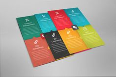 I just released Multipurpose Business Flayer on Creative Market.