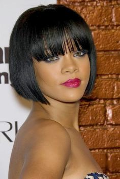 Awe Inspiring Bobs African Americans And Short Weave On Pinterest Hairstyle Inspiration Daily Dogsangcom