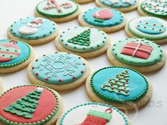 SweetAmbs xmas cookies
