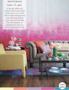 How To Get Dip-Dye Walls Right