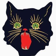 "halloween cat design "" Unisex T-Shirt by colorpress Artwork Design, Cat Painting, Grunge Art, Animal Illustration Art, Psychedelic Art, Black Cat Painting, Small Art Prints, Japanese Art Modern, Animal Illustration"