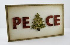 Tree as an 'A' #christmas #card