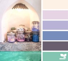 { color collect } image via: The post Color Collect appeared first on Design Seeds. Design Seeds, Colorful Interior Design, Colorful Interiors, Colour Schemes, Color Combos, Colour Palettes, Pantone, Color Lavanda, Color Palette Challenge