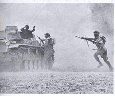 ?Greek troops capture an intact German tank at the Battle of El Alamein?