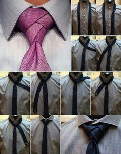 How to tie a tie - for James