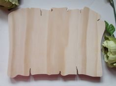 Items similar to Old Paper Unfinished DIY Solid Wood Plaque on Etsy Unfinished Wood Plaques, Wooden Plaques, Wooden Decor, Diy Arts And Crafts, Crafts To Do, Wood Crafts, Diy Wood, Handmade Crafts, Hand Router