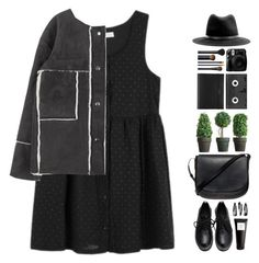 """""""#701"""" by giulls1 ❤ liked on Polyvore featuring Mansur Gavriel, rag & bone, Undercover, NLY Accessories, Luckies, NARS Cosmetics, Eight & Bob, black, blackdress and blackoutfit"""
