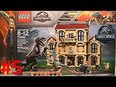 New Jurassic World Fallen Kingdom Lego Sets All 2018 New York Toy Fair Indoraptor, Carnotaurus - YouTube