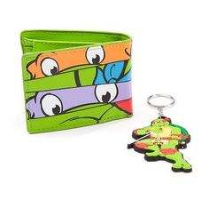 #Teenage #mutant #ninja turtles (tmnt) masks bi-fold wallet & raph keychain gifts, View more on the LINK: http://www.zeppy.io/product/gb/2/281807973599/