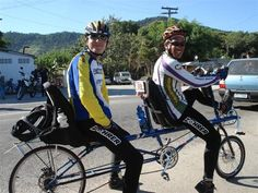 Tandem reclinada Zöhrer , pedalada pelo Cezar e o Zöhrer no Audax de 200km Niteroi-Saquarema -Niteroi 2007.Tempo de 10horas e 55min (não oficial) <BR> - Fotolog