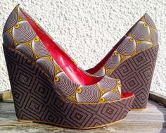 Buy African: Shoes and Bags from South of Africa – Afri-love Ankara, African Wear, African Dress, African Style, African Clothes, Kitenge, African Accessories, Fashion Accessories, Tacos Chinos