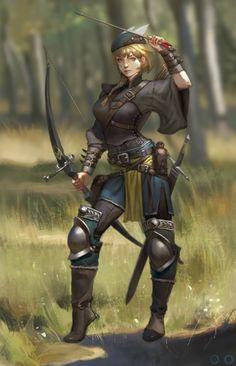 Archer, ㅇㅇ Joo on ArtStation at https://www.artstation.com/artwork/QLVPB