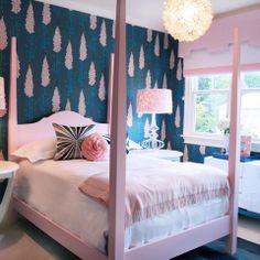 Tiffany Blue Aqua And Pink S Bedroom Design Ideas Pictures Remodel Decor