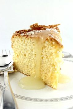 Passover Lemon Apple Sponge IX