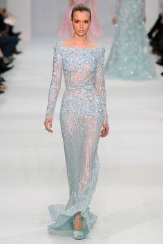 Pantone's Color 2016:  Serenity blue wedding dress