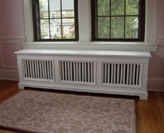 Tips Diy Projects, Covers Window Seats, Decorating Ideas, Window Seat Radiator…