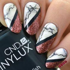 #Marble Nail Art